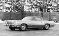 Chevrolet Studio Monte Carlo 1970 Poster