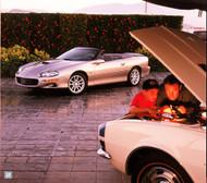 Chevrolet Camaro 2002 Ad Poster