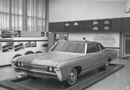Chevrolet Design Studio 1966 Poster