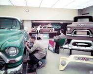 GMC Truck Design Studio Poster