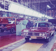 1969 Buick Sedan Plant Engineering Poster