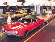 1970 Chevrolet Monte Carlo Poster