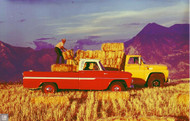 Chevrolet Truck Ad Poster