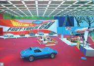 1968 Detroit Auto Show Poster