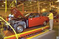 GM Lansing Assembly Plant 1996 Poster