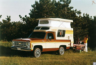 1976 Chevrolet Blazer Chalet Poster