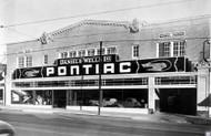 1936 Daniels-Wells Pontiac Oakland Poster
