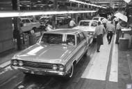 1963 Oldsmobile Lansing Assembly Poster