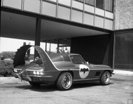 1967 Corvette Stingray Batmobile Concept Poster