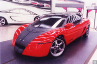 1990s GM Advanced Concept Mid-4 Poster