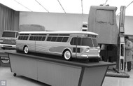 GMC Bus Scale Model Poster