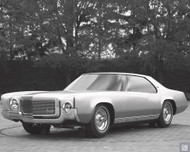 1973 Monte Carlo Clay Model Poster