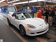 C6 Corvette Assembly Plant Poster