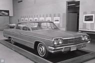 Chevrolet Studio 1964 Impala Clay Poster