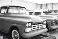 1956 Truck Studio Poster