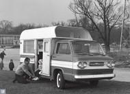 1961 Chevrolet Camper Poster