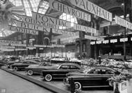 GM US Brand Exhibit 1949 Poster