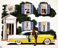 1955 Chevrolet Bel Air Advertising Poster