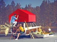 1969 Aqua-Camp Chevrolet Poster