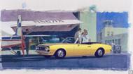 1967 Camaro Advertising Poster