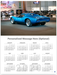 Chevrolet Astro 1968 2020 Wall Calendar