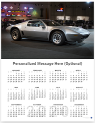 Chevrolet Corvette 1972 Reynolds 2020 Wall Calendar