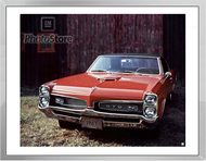 1967 Pontiac GTO Hardtop Coupe Framed Print
