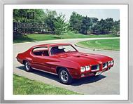 1970 Pontiac GTO Hardtop Coupe II  Framed Print