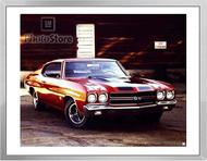 1970 Chevrolet Chevelle SS 396 Coupe Framed Print