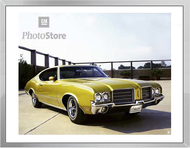 1971 Oldsmobile Cutlass S Holiday Coupe Framed Print