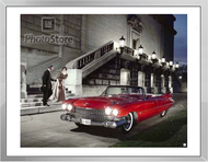 1959 Cadillac Series 62 Convertible Framed Print