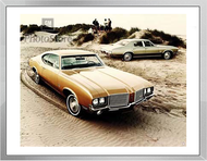 1972 Oldsmobile Cutlass Models Framed Print