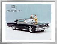 1964 Pontiac Grand Prix Coupe Framed Print