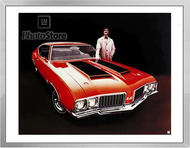 1970 Oldsmobile 442 Coupe Framed Print