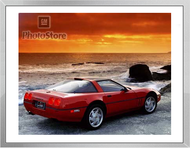 1990 Chevrolet Corvette ZR-1 Coupe Framed Print