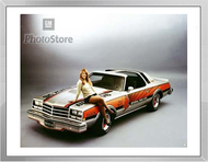 1976 Buick Century Special Pace Car Framed Print