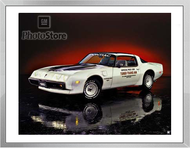 1980 Pontiac Firebird Turbo Trans Am II Framed Print