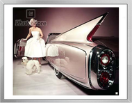 1960 Cadillac Eldorado Biarritz Convertible Framed Print