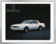 1983 Chevrolet Monte Carlo SS Coupe Framed Print