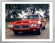 1972 Pontiac GTO Hardtop Coupe Framed Print