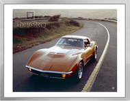 1971 Chevrolet Corvette Stingray Coupe Framed Print
