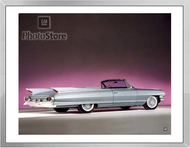 1961 Cadillac Eldorado Biarritz Convertible Framed Print