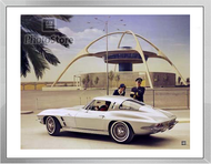1963 Chevrolet Corvette Sting Ray Coupe Framed Print
