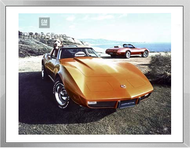 1975 Chevrolet Corvette Stingray Coupe Framed Print
