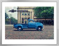 Chevy Trucks Centennial 1947 - 1955 Art Framed Print