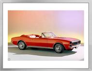 1967 Camaro Ad Framed Print