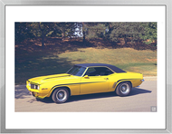 GM Design Studio Camaro Z427 Concept Car Framed Print