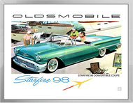 Oldsmobile Ad Framed Print