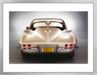 Corvette Sting Ray Personalized Framed Print