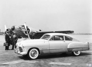Cadillac 1948 Art Poster